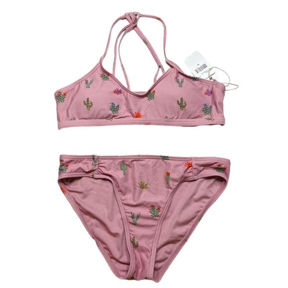 O'Neill Other - O'Neill Girls Pink Cactus Bikini NWT size 14